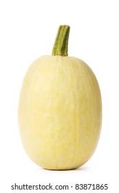 organic spaghetti squash Cucurbita pepo vegetable