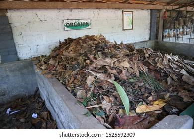 Organic trash for plant fertilizer