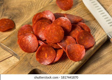 Organic Uncured Italian Pepperoni Slices Ready to Use