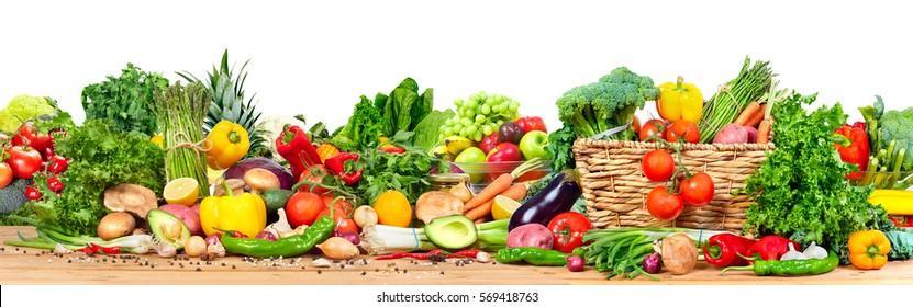 Légumes et fruits biologiques