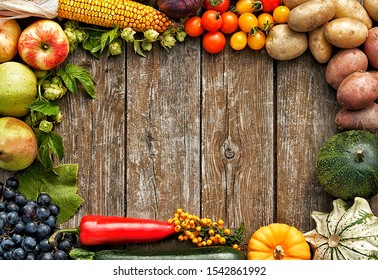 Organic vegetables that placed on the table