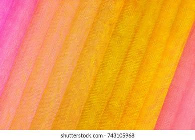 organza fabric various color samples