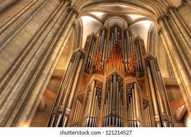 The Orgel St. Lamberti church, Munster - Germany