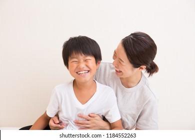 Orient, parent and child, boy