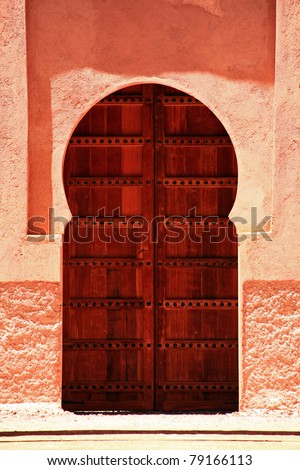 Oriental Door in Morocco