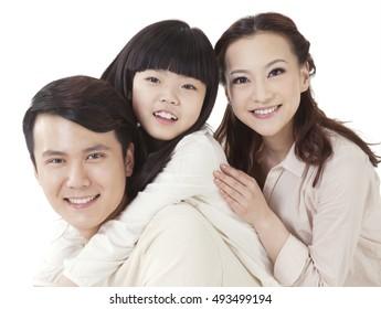 The Oriental family three