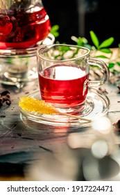 Oriental fresh healthy organic tea