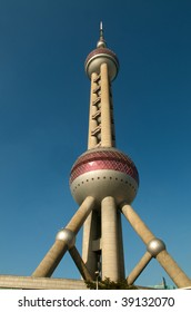 Oriental Pearl Tower in Shanghai