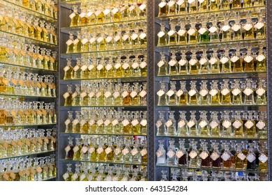 Oriental perfume store