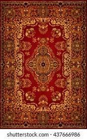 Oriental Persian Carpet Texture