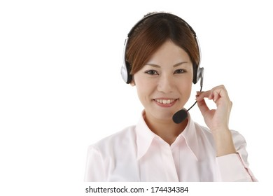 Oriental women operator