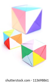 the origami block shapes