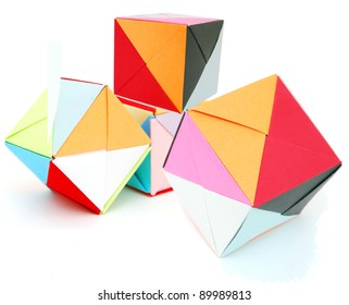 Origami blocks on learning