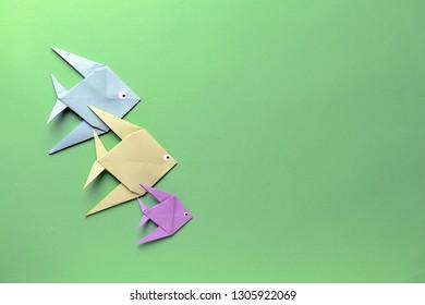 Foto Immagini E Foto Stock A Tema Pesce Origami Shutterstock