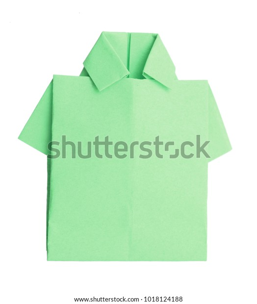 Easy Origami Shirt - Father's Day Card - Red Ted Art - Make ... | 620x524