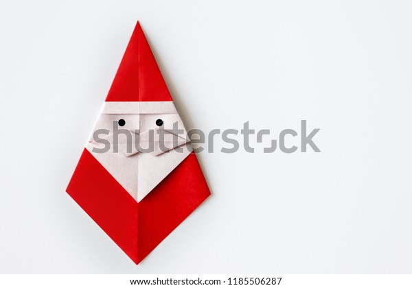3D origami Santa Claus 2 (small) | Origami | 420x600