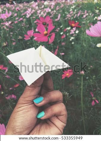 Origami Paper Fortune Teller Stock Photo Edit Now 533355949