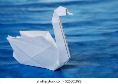 Swan origami by Roman Diaz - OrigamiArt.Us | 280x390