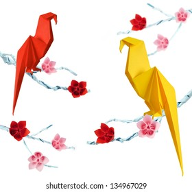 Origami Parrot | Milestoned | Flickr | 280x280