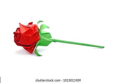 How to Fold a Paper Rose (with Pictures) - wikiHow   280x390