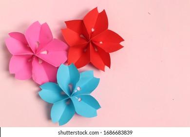 Origami Sakura Flower paper cute