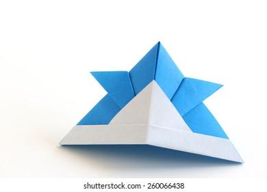 Samurai Hat - Taro's Origami Studio E-learning and Shop | 280x390