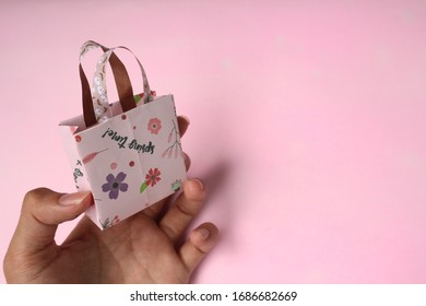 Origami tiny goodie bag paper cute