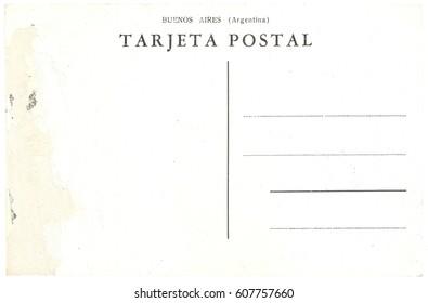 Tarjeta postal translation