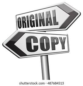 original copycat originality cheap and bad copy or unique top quality product guaranteed  3D, illustration