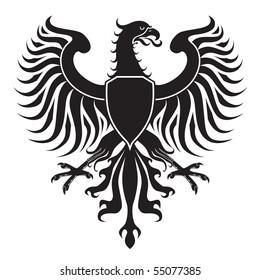 Original eagle crest. JPEG version.