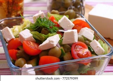 Original greek salad