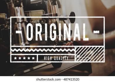Original High Quality Stamp Sign Concept