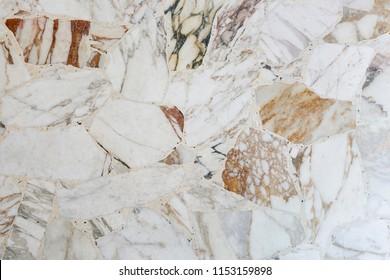 Original marble terrazzo floor background