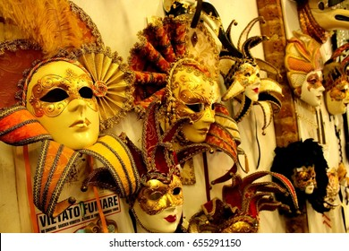 original masks in Venice