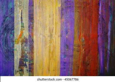 original oil painting on canvas for giclee, abstract  background or concept