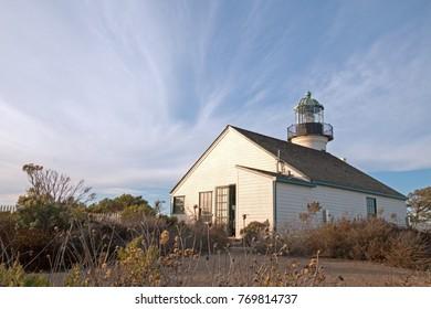 ORIGINAL OLD POINT LOMA LIGHTHOUSE POINT LOMA SAN DIEGO CALIFORNIA USA