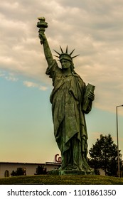 Original Statue of Liberty in Colmar France