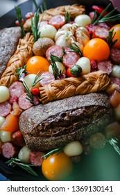 Edible Meat Bouquet