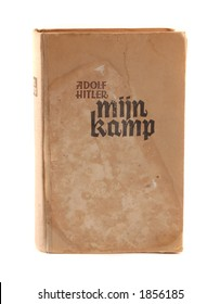 "originall 1942 Dutch kopie of Adolf Hitler's book ""mein kampf""."