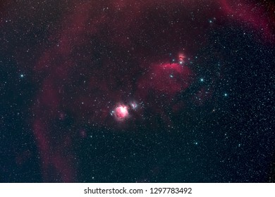 Orion and Barnard's Loop