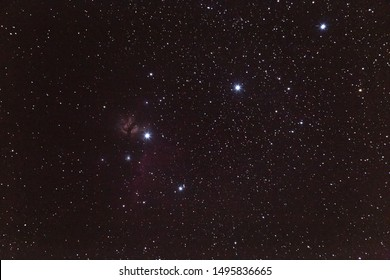 Orion Nebula. Galactic stars with the Season, Winter