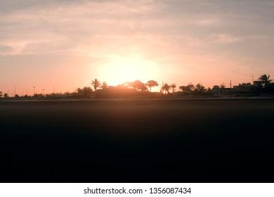 Orla sunset Aracaju - Sergipe - Brazil - Beach