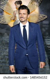 Orlando Bloom at the Los Angeles premiere of Amazon's 'Carnival Row' held at the TCL Chinese Theatre in Hollywood, USA on August 21, 2019.