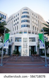 ORLANDO, FL - Feb 17 2017:Orlando's City Hall.Located in Orlando Florida on Feb 17 2017.