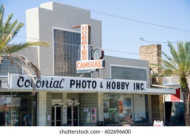 ORLANDO, FL - March 16 2017:Colonial Photo and Hobby.Located in Downtown Orlando Florida on March 16 2017.