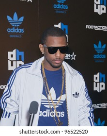 ORLANDO, FLORIDA - FEB. 24: Rap artist Fabolous attends the VIP All-Star party hosted by Dwight Howard and Adidas on Feb. 24, 2012 in Orlando Florida.
