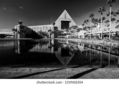 ORLANDO, FLORIDA – JANUARY 15: Swan and Dolphin hotel welcomes 8000 attendees of IBM Lotusphere conference on January 15, 2012.