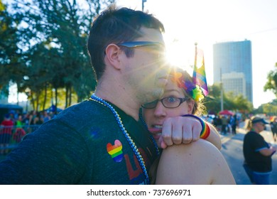 Orlando, Florida July 2016  - Orlando gay pride parade 2017 at Lake Eola