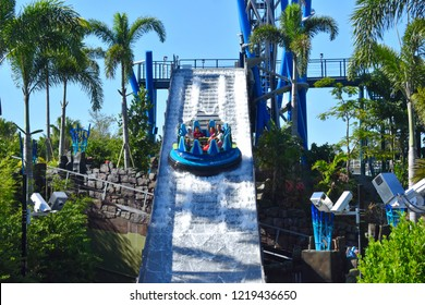 Orlando, Florida. October29, 2018 Now Open to experience world class rapids and the world's tallest drop at Seaworld Theme Park.