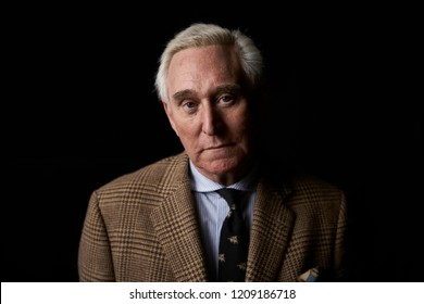 "ORLANDO, FLORIDA - SEPTEMBER 14, 2017: Roger Stone at Book Signing Party for ""The Making of the President 2016: How Donald Trump Orchestrated a Revolution"""